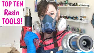 My Top TEN Resin TOOLS!