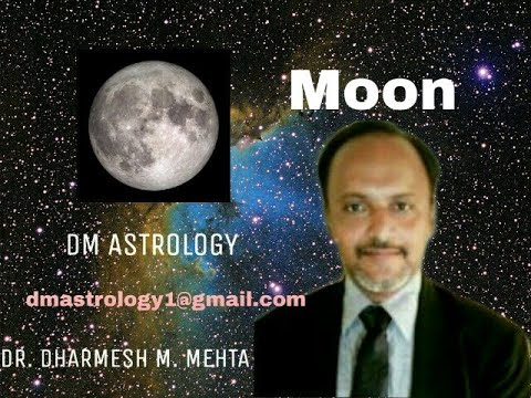 Significance of Moon in Vedic Astrology by Dr Dharmesh Mehta