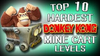 Top 10 Hardest Donkey Kong Mine Cart Levels