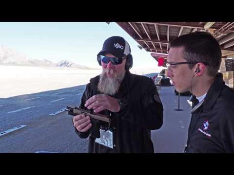 Kyle Lamb P320-VTAC Explained - SIG Sauer Range Day 2017