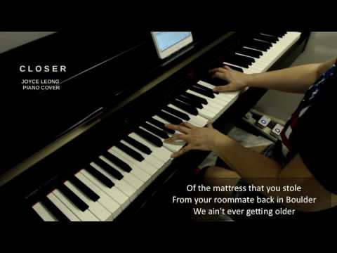 The Chainsmokers ft. Halsey - Closer - Piano cover & Sheets