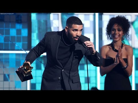 Drake cut off during Grammys acceptance speech Mp3