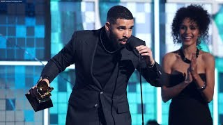 Drake cut off during Grammys acceptance speech
