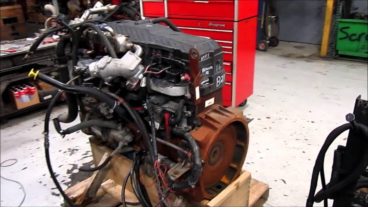 3k In Miles >> 2005 International Maxxforce 9 Diesel Engine Running - YouTube