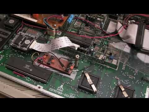Atari ST 16Mhz + 4Mb + Fast TOS