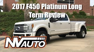 2017 Ford F450 Platinum Long Term Review