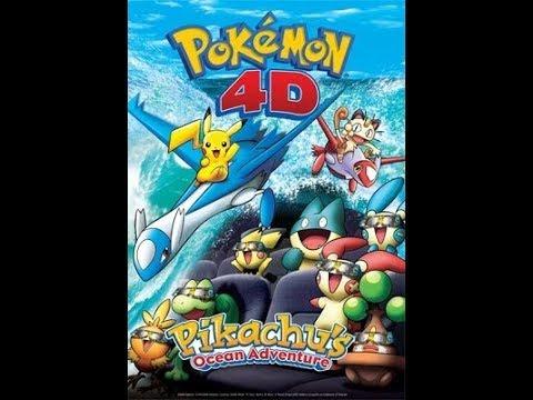 Pikachu Images: Pokemon 4d Pikachus Ocean Adventure Part 1