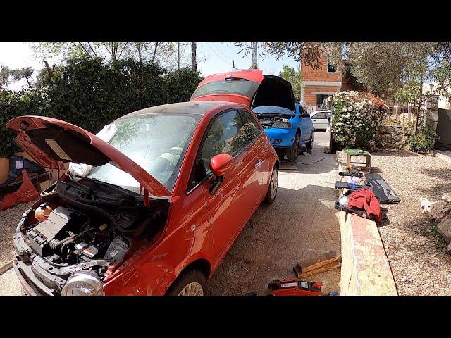 Fin de semana Pintando + Parasol + Fiat Bajado + Spoiler Bertone | Terols Garage Entertainment