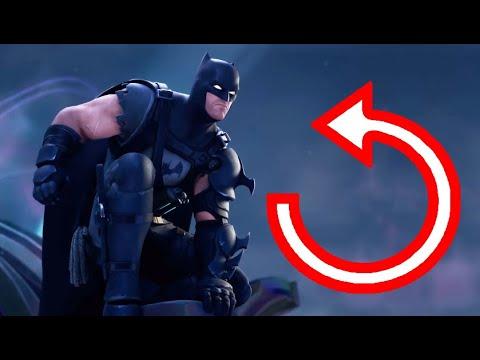 Fortnite/Batman: Zero Point Trailer REVERSED