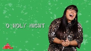 "Brooke Simpson sings ""O Holy Night"" 