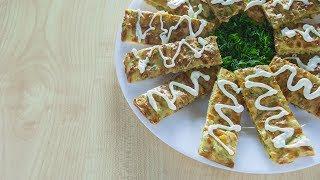 Супер простая закуска из сыра и зелени за 5 минут