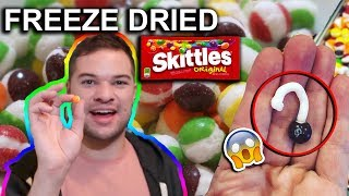 What Happens When You Freeze Dry Skittles and Other Candy (Taste Test)