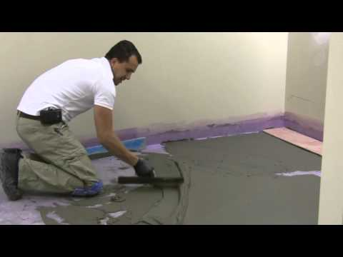 How To Float And Prepare Floor For Tile Installation