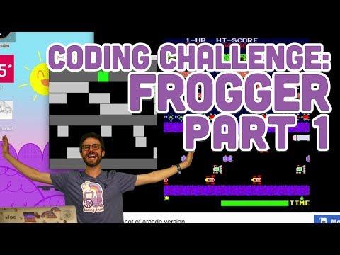 Coding Challenge #72.1: Frogger - Part 1