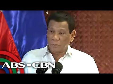 Bandila: Duterte, nagbabala ng mas mabagsik na kampanya kontra droga