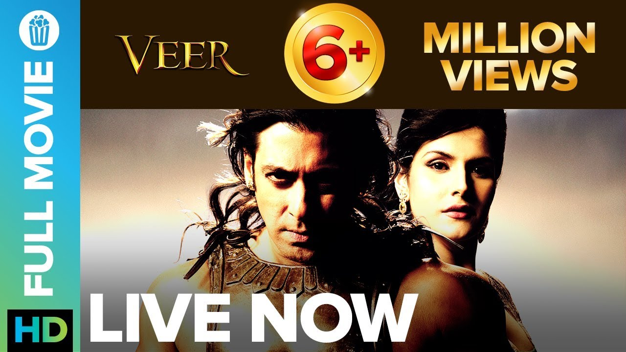 Veer | Full Movie LIVE on Eros Now | Salman Khan, Zarine Khan, Sohail Khan,  Jackie Shroff, Mithun Da