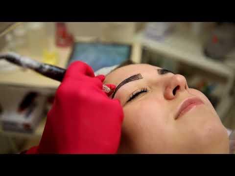 Как проходит процедура перманентного макияжа бровей