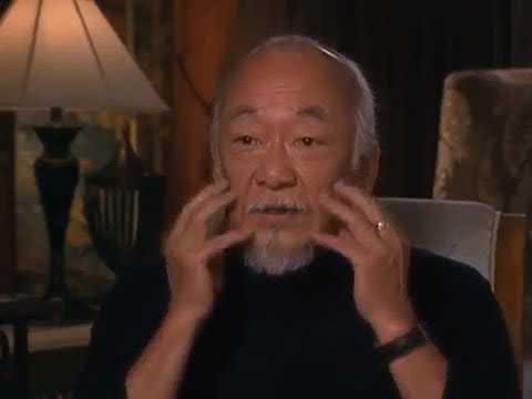 Pat Morita on getting cast as Mr  Miyagi in The Karate Kid
