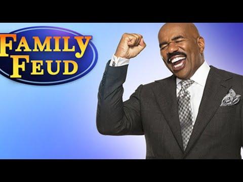 my experience on family feud I met Steve Harvey