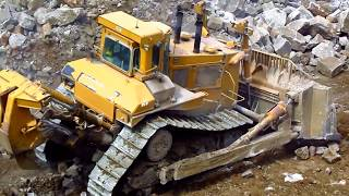 Caterpillar D11N and D11R Stripping Overburden