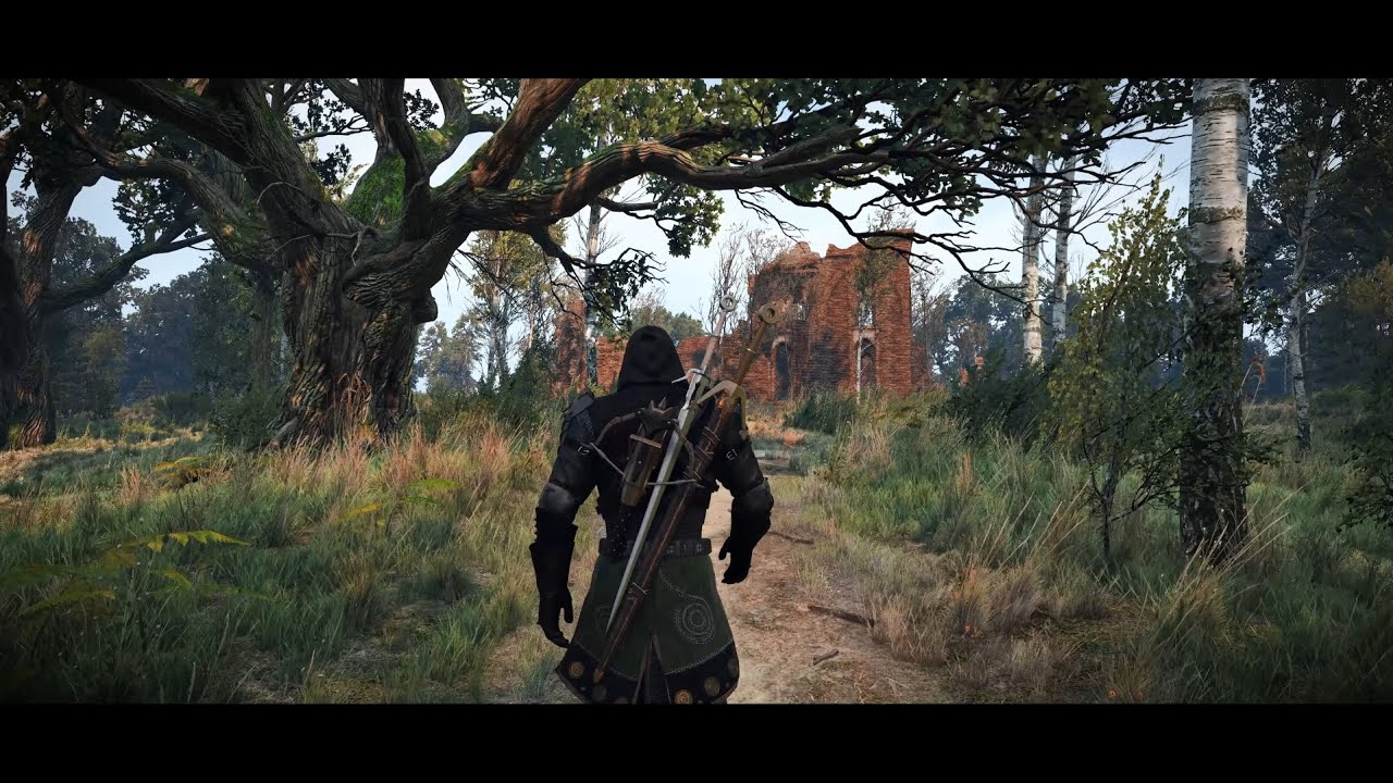 The Witcher 3 Graphics Mods Ultra Modded 4K