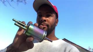 How to change a fuel filter (04 Ford Expedition)