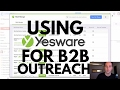 How We Use Yesware for Mail Merge, Reminders and Follow-ups (Yesware Tutorial)