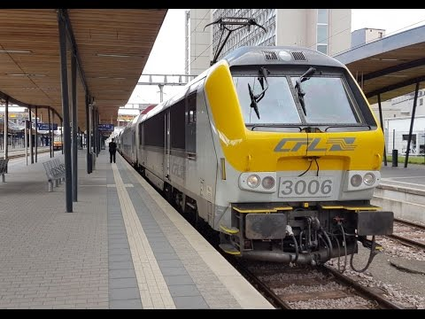 Treinen op Station Luxemburg