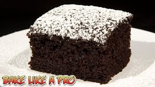 Chocolate Wacky Cake Recipe - Dairy Free / Vegan Chocolate Cake Recipe