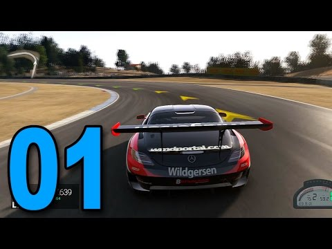 Project CARS – Part 1 – Mercedes SLS AMG! (Let's Play / Walkthrough / 1080p Gameplay)