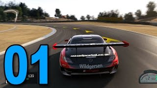Project CARS - Part 1 - Mercedes SLS AMG! (Let's Play / Walkthrough / 1080p Gameplay)