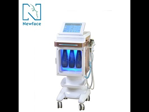 Nova ultrasonic cleaning oxygen jet skin whitening beauty salon equipment