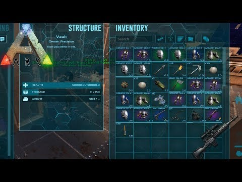 Ark Survival Evolved | Official Pvp: Precision | Farming Personal Gear | Follow On Twitch
