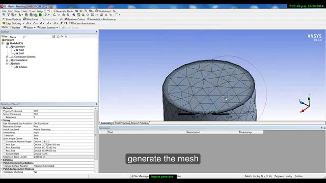 ansys cfx turbomachinery tutorial