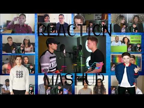 Bruno Mars - 24K Magic (SING OFF vs. Alex Aiono) Reaction Mashup