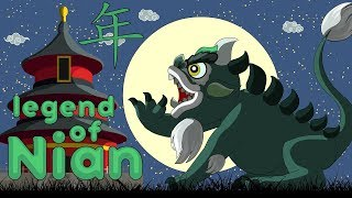Story of Chinese New year Legend Of Nian 年 animation