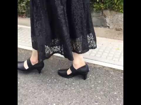 レディースシューズ yuriko mastumoto パンプス 外反母趾
