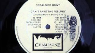 Geraldine Hunt - Can