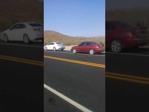 Atacan a traileros en Caborca-Sonoita grupos delincuenciales