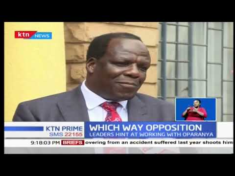 A section of Mount Kenya region leaders hint at possible coalition with Oparanya
