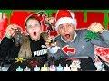 CHRISTMAS PANCAKE ART CHALLENGE!! *HOLIDAY EDITION*