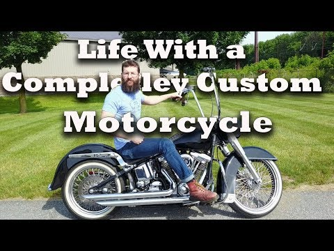 Special Constructed custom motorcycle