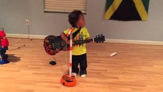 Instagram: @myles_kingston_sadler Crazy Baldheads by Bob Marley sang by Myles Kingston age 2
