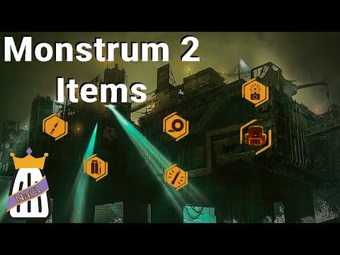 Monstrum 2: All Core Item Breakdowns |