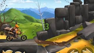 Trials Frontier! В поисках конфет! Серия 14! Мотоцикл!