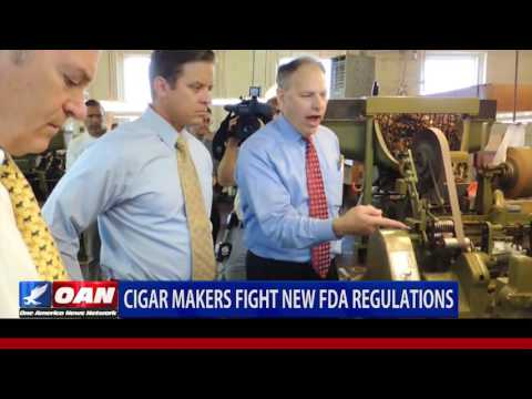 Cigar Makers Fight New FDA Regulations