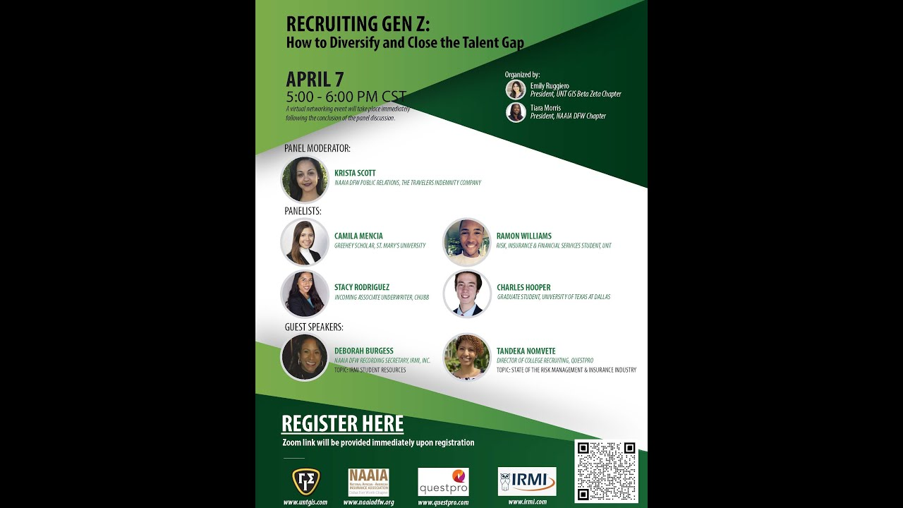 Recruiting Gen Z: How to Diversity and Close the Talent Gap 4.7.21