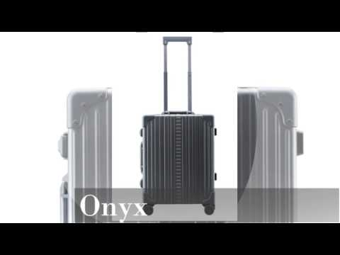 Colors of Aleon Aluminum Luggage