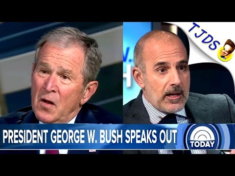 George W. Bush & Matt Lauer Forget Iraq Together On TV