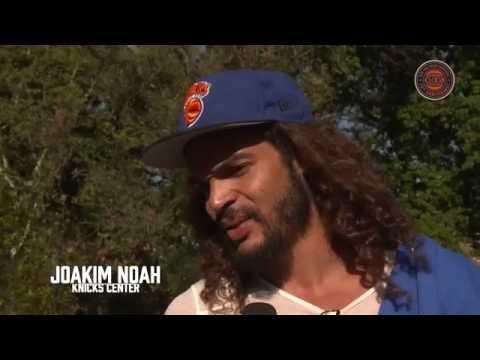Joakim Noah Surprises Fans at Morningside Park